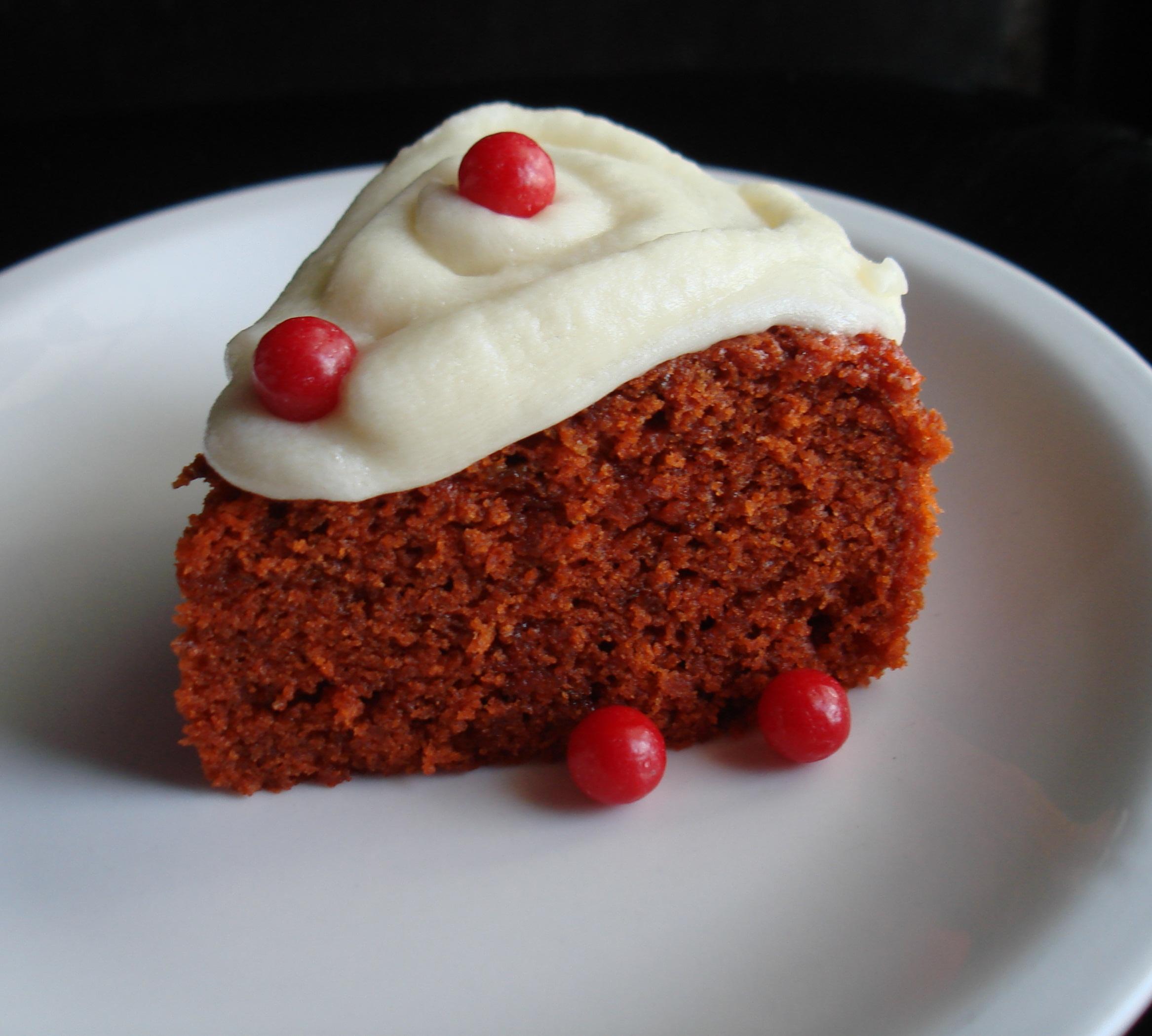 Orange Red velvet cake My Food Trolley