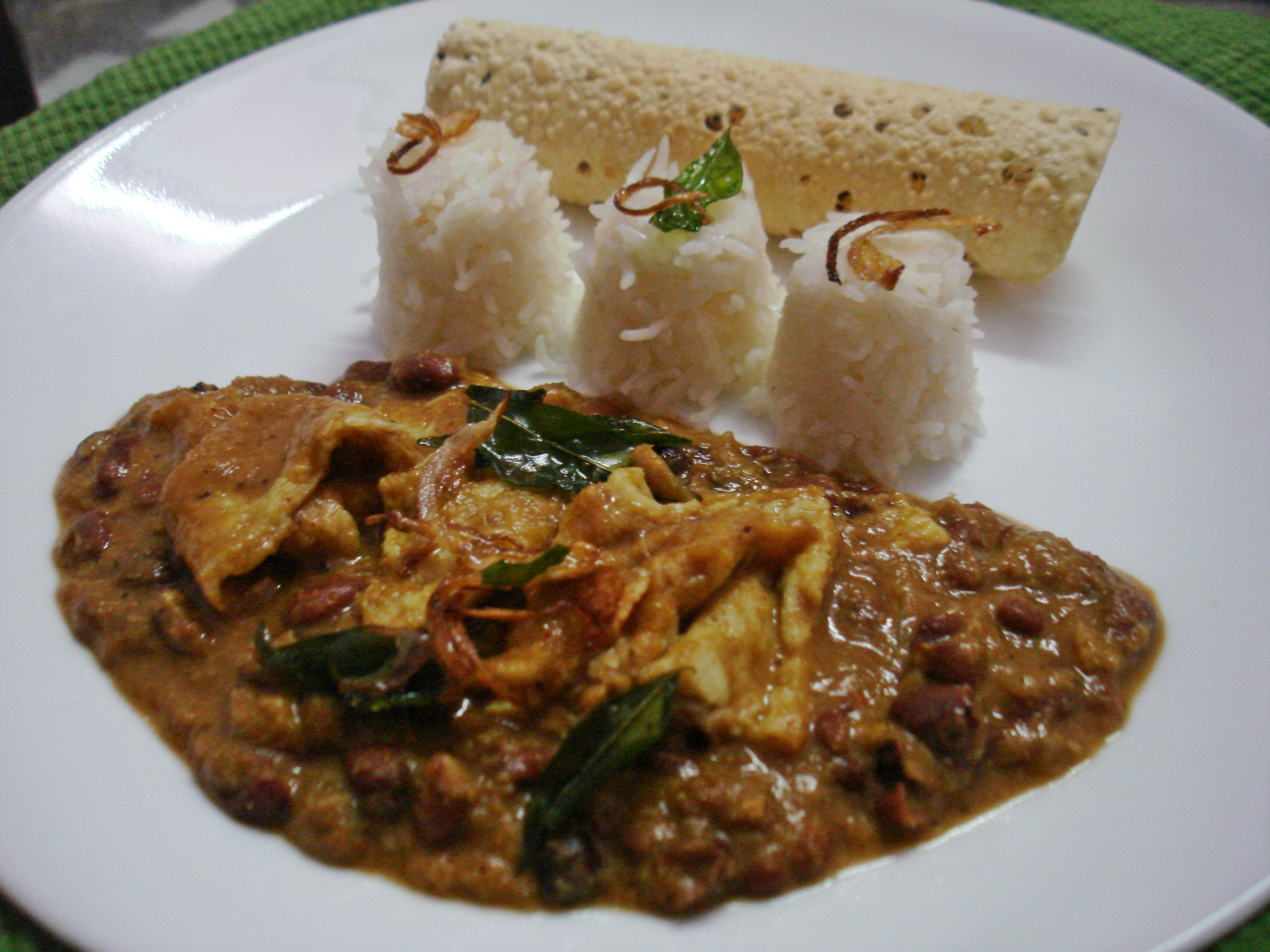 Bean and egg curry south indian style my food trolley this forumfinder Images