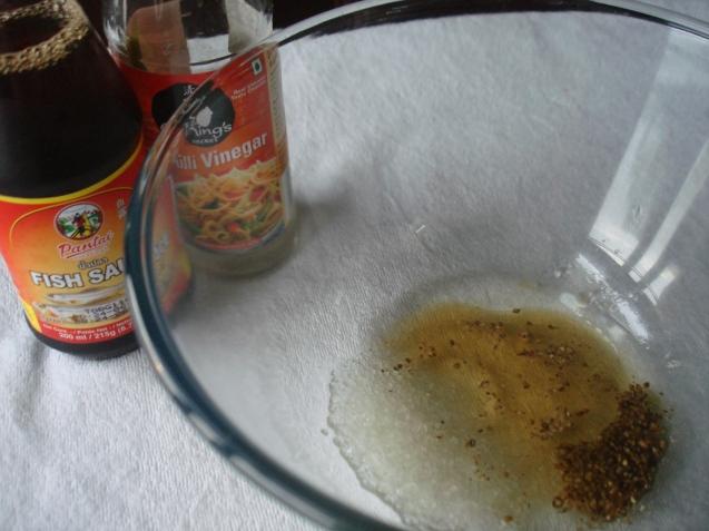 fish sauce n prep