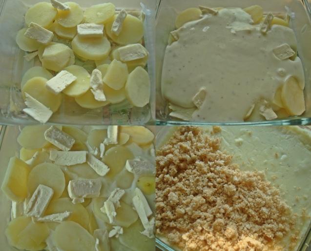 layering the bake