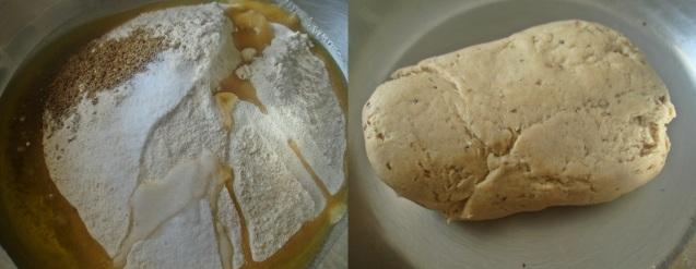 crackers dough prep
