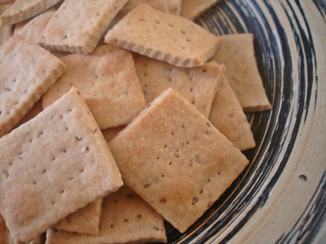 plated crackers