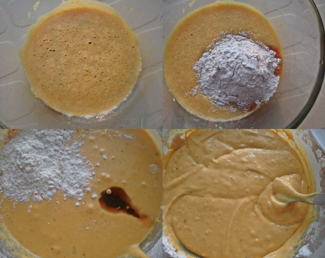 spice cake batter procedure
